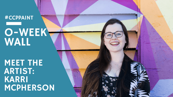 #CCPPAINT presents O-Week Wall – Meet the Artist