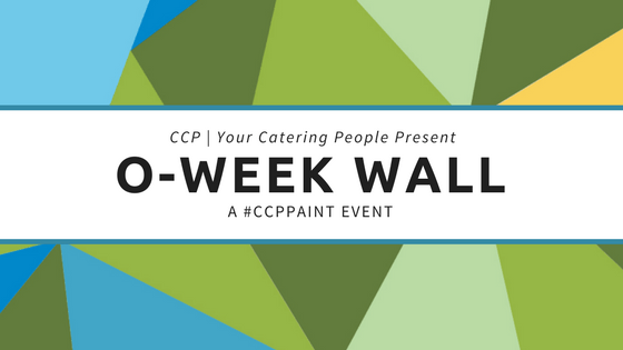 #CCPPaint Presents O-Week Wall