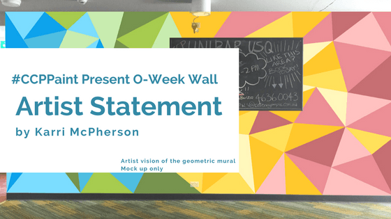 The idea behind O-Week Wall